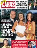 Carolina Ferraz, Cláudia Lira, Leonardo Franco, Rose Miriam Di Matteo, Xuxa Meneghel on the cover of Caras (Brazil) - November 2002