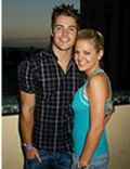 Josh Henderson and Kirsten Storms