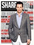 Jon Hamm on the cover of Sharp (Canada) - May 2014