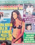 Laura Novoa on the cover of Semanario (Argentina) - January 1997