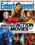 Bruce Willis on the cover of Entertainment Weekly (United States) - June 2007