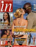 Heidi Klum, Seal on the cover of In (Germany) - August 2011