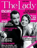 Bérénice Bejo, Jean Dujardin on the cover of The Lady (United Kingdom) - February 2012