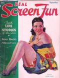 Lupe Velez on the cover of Real Screen Fun (United States) - September 1934