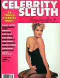on the cover of Celebrity Sleuth (United States) - January 1990