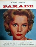 Tuesday Weld on the cover of Parade (United States) - October 1962