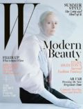 Tilda Swinton on the cover of W Magazine (United States) - May 2013