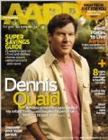 Dennis Quaid on the cover of Aarp The Magazine (United States) - September 2010