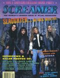 Blas Elias, Dana Strum, Mark Slaughter, Tim Kelly on the cover of Screamer (United States) - September 1992