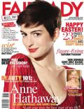 Anne Hathaway on the cover of Fairlady (South Africa) - March 2013