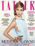 Hermione Corfield on the cover of Tatler (United Kingdom) - April 2013