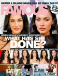 Megan Fox on the cover of Famous (Australia) - June 2010