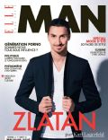 Zlatan Ibrahimovic on the cover of Elle Man (France) - April 2014