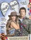 Emilia Attías, Nicolas Vazquez on the cover of Casi Angeles (Argentina) - April 2007