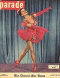 Cyd Charisse on the cover of Parade (United States) - September 1948