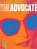 Madonna on the cover of The Advocate (United States) - March 2012