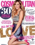 Lauren Conrad on the cover of Cosmopolitan (Australia) - April 2014