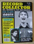 Liam Gallagher on the cover of Record Collector (United Kingdom) - October 1997