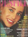 Unknown on the cover of Desfile (Brazil) - November 1980