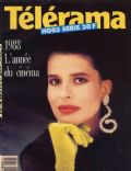 Fanny Ardant on the cover of Telerama (France) - January 1988