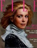 Catherine Deneuve on the cover of Elle (France) - March 1970