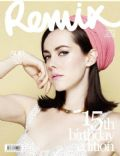 Jena Malone on the cover of Remix (New Zealand) - December 2013