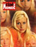 Elga Andersen on the cover of Cinemonde (France) - January 1968