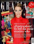 Malgorzata Rozenek on the cover of Grazia (Poland) - December 2013