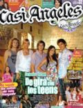 Gastón Dalmau, Juan Pedro Lanzani, María Eugenia Suárez, Mariana Espósito, Nicolas Riera on the cover of Casi Angeles (Argentina) - October 2009