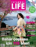 Nil Karaibrahimgil on the cover of Istanbul Life (Turkey) - April 2009