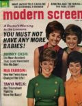Janet Lennon on the cover of Modern Screen (United States) - June 1970