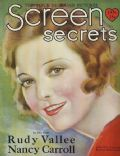 on the cover of Screen Secrets (United States) - January 1929