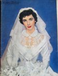 Elizabeth Taylor on the cover of Sunday News (United States) - May 1950