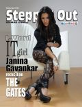 Janina Gavankar on the cover of Steppin Out (United States) - August 2010