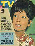 Marisa Del Frate on the cover of TV Sorrisi E Canzoni (Italy) - August 1963