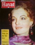 Romy Schneider on the cover of Hayat (Turkey) - October 1970