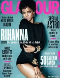 Rihanna on the cover of Glamour (France) - January 2014