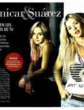Brenda Asnicar, María Eugenia Suárez on the cover of La Nacion (Argentina) - December 2011