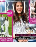Kate Middleton on the cover of Grazia (United Kingdom) - May 2012