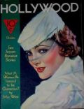 Myrna Loy on the cover of Hollywood (United States) - October 1933