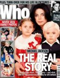 Michael Jackson on the cover of Who (Australia) - July 2009