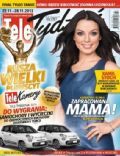 Katarzyna Glinka on the cover of Tele Tydzie (Poland) - November 2013