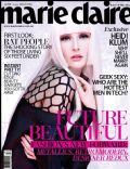 on the cover of Marie Claire (Malaysia) - April 2013