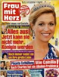 Princess Máxima of the Netherlands on the cover of Frau Mit Herz (Germany) - May 2010