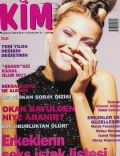 Sebnem Dönmez on the cover of Kim (Turkey) - December 1996