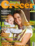 Geraldine Neumann on the cover of Nacer Y Crecer (Argentina) - April 2011