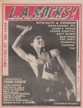 Stephen Pearcy on the cover of L A Rocks (United States) - July 1987