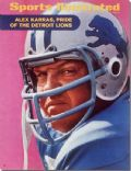 Alex Karas on the cover of Sports Illustrated (United States) - October 1970