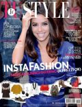 Eva Longoria on the cover of Tu Style (Italy) - July 2014