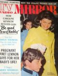 Jacqueline Kennedy on the cover of TV Radio Mirror (United States) - January 1967